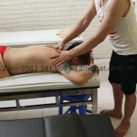 Bấm huyệt chữa đau lưng